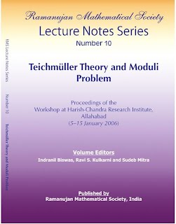 Number 10 Teichmuller Theory and Moduli Problem