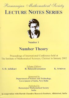 Number Theory, Vol. 1
