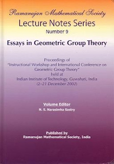 Number  9 Essays in Geometric Group Theory