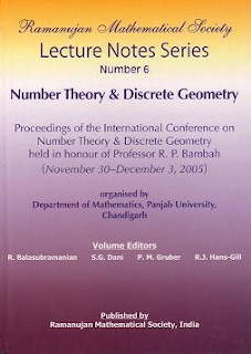 Number 6 Number Theory & Discrete Geometry