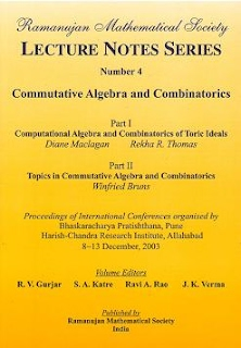 Number 4 Commutative Algebra and Combinatorics